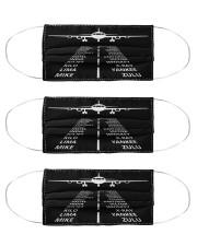 pilots lingo mas Cloth Face Mask - 3 Pack front