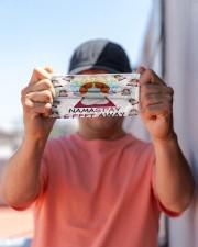 beagle yoga namastay mas Cloth Face Mask - 3 Pack aos-face-mask-lifestyle-05