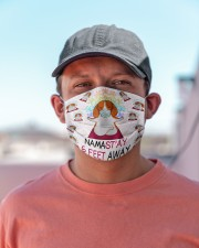 beagle yoga namastay mas Cloth Face Mask - 3 Pack aos-face-mask-lifestyle-06