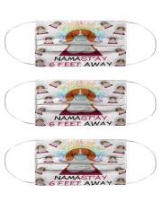 beagle yoga namastay mas Cloth Face Mask - 3 Pack front