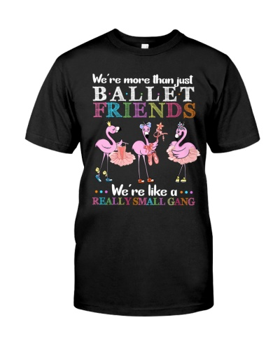 Flamingo Friends Ballet Gang