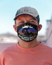 jiu jitsu keep rolling turn black mas Cloth Face Mask - 3 Pack aos-face-mask-lifestyle-06