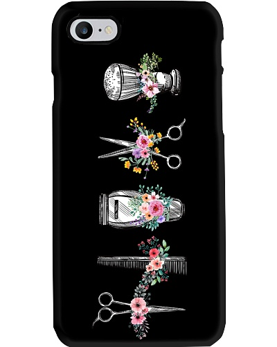 hair phonecase flower