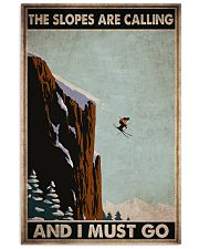 skiing slopes calling must go pt phq ngt 11x17 Poster front