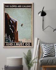 skiing slopes calling must go pt phq ngt 11x17 Poster lifestyle-poster-1