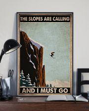 skiing slopes calling must go pt phq ngt 11x17 Poster lifestyle-poster-2