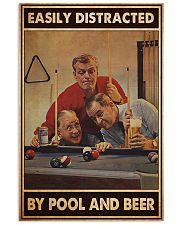 Pool and beer easily distracted pt dvhh-ntv 11x17 Poster front