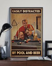Pool and beer easily distracted pt dvhh-ntv 11x17 Poster lifestyle-poster-2