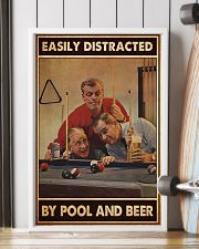 Pool and beer easily distracted pt dvhh-ntv 11x17 Poster lifestyle-poster-4