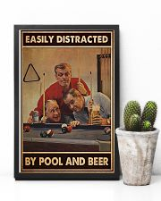 Pool and beer easily distracted pt dvhh-ntv 11x17 Poster lifestyle-poster-8