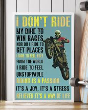 motocross i ride to feel fre poster 11x17 Poster lifestyle-poster-4