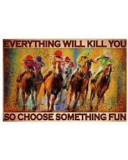 kentucky derb horse racing pt lqt DQH 24x16 Poster front