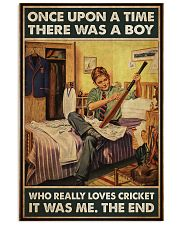 boys love cricket Once upon a time pt mttn NTH 11x17 Poster front