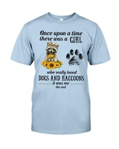 Raccoon dog Sunflower girl end