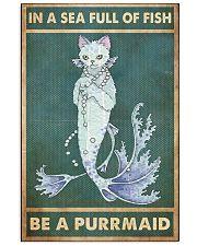 purrmaid in sea full fish pt phq ntv 11x17 Poster front