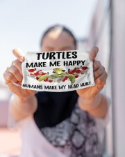 Turtles Make Me Happy mas Cloth Face Mask - 3 Pack aos-face-mask-lifestyle-07