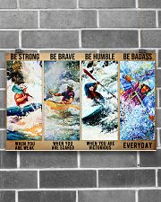 kayak be strong dvhd 17x11 Poster poster-landscape-17x11-lifestyle-18