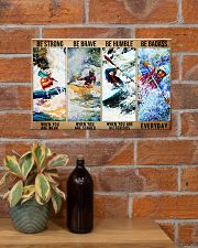 kayak be strong dvhd 17x11 Poster poster-landscape-17x11-lifestyle-23