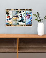 kayak be strong dvhd 17x11 Poster poster-landscape-17x11-lifestyle-24