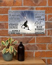 Kite surfing good day to be a great day dvhh-DVH 17x11 Poster poster-landscape-17x11-lifestyle-23