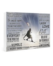 Kite surfing good day to be a great day dvhh-DVH 24x16 Gallery Wrapped Canvas Prints thumbnail