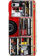 firefighter fire truck side pc phn nna Phone Case i-phone-8-case