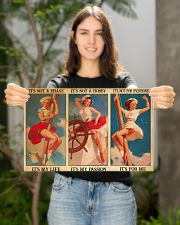 female sailor not a phase poster ttb ntv 17x11 Poster poster-landscape-17x11-lifestyle-19