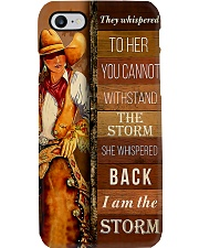 Horse Girl I Am The Storm PC Phone Case i-phone-8-case