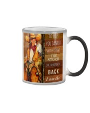 Horse Girl I Am The Storm PC Color Changing Mug thumbnail