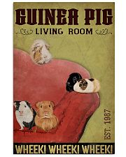 Guinea Pig Living Room 11x17 Poster front