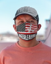 Cheerleading us flag mas Cloth Face Mask - 3 Pack aos-face-mask-lifestyle-06