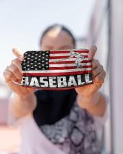 baseball us flag mas Cloth Face Mask - 3 Pack aos-face-mask-lifestyle-07