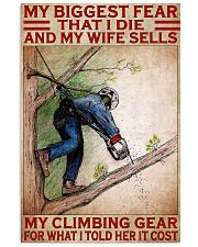 arborist biggest fear pt lqt pml 11x17 Poster front