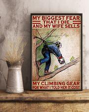 arborist biggest fear pt lqt pml 11x17 Poster lifestyle-poster-3
