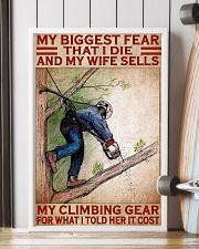 arborist biggest fear pt lqt pml 11x17 Poster lifestyle-poster-4