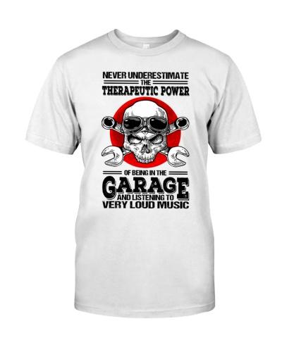skull mechanic loud music