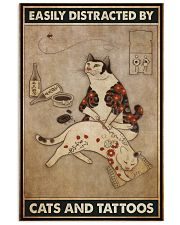 japanese cats tattoos easily distracted phq NTH 11x17 Poster front