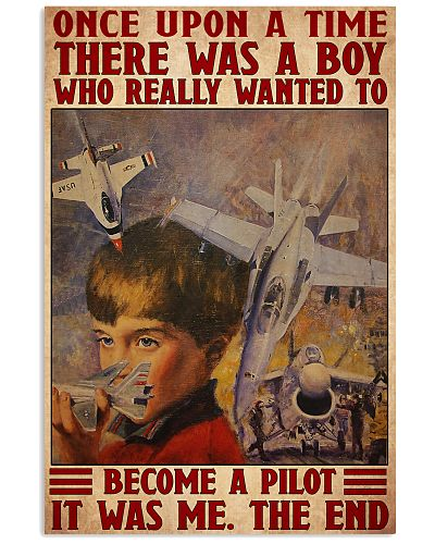 Pilot boy dream once upon a time poster