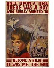 Pilot boy dream once upon a time poster 11x17 Poster front