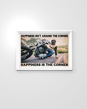 Motorcycle Corner Happiness pt lqt pml 24x16 Poster poster-landscape-24x16-lifestyle-02