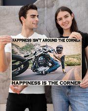 Motorcycle Corner Happiness pt lqt pml 24x16 Poster poster-landscape-24x16-lifestyle-21