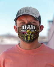 firefighter dad first hero first love mas Cloth Face Mask - 3 Pack aos-face-mask-lifestyle-06