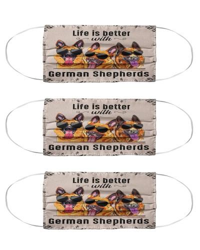 German Shepherd Life is Better