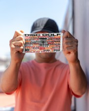 disc golf typo mas Cloth Face Mask - 3 Pack aos-face-mask-lifestyle-05