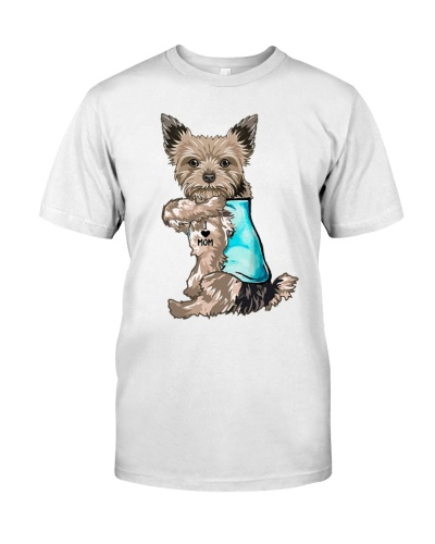 yorkshire terrier I love mom