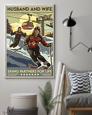 skiing partners for life 8-6 11x17 Poster lifestyle-poster-1