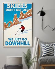 skiing dont get old 11x17 Poster lifestyle-poster-1