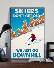 skiing dont get old 11x17 Poster lifestyle-poster-2