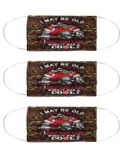 firefighter f4 Cloth Face Mask - 3 Pack front