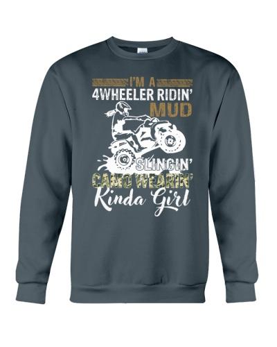 I'm A 4 Wheeler Ridin' Mud Slingin'
